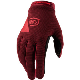 100% Ridecamp Handschoenen Dames, brick